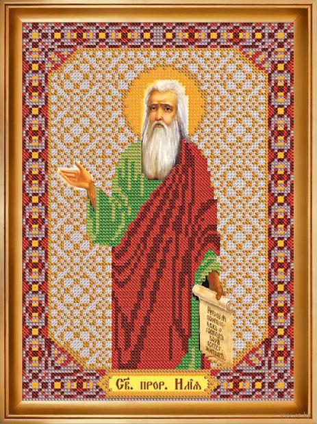 """Вышивка бисером """"Святой Пророк Илья"""""""