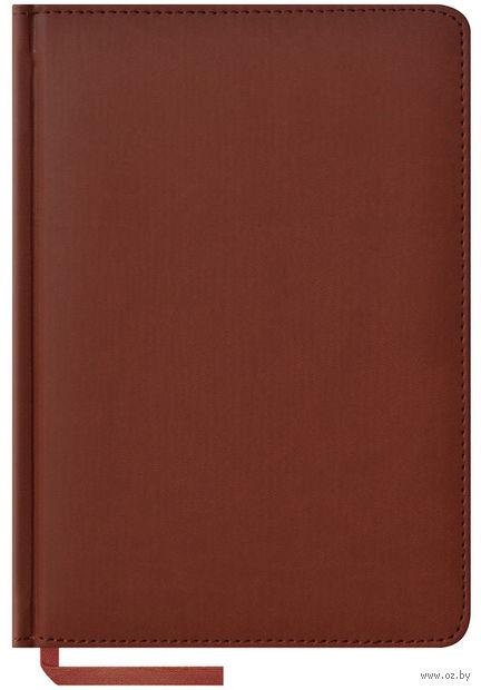 """Ежедневник недатированный """"Vivella"""" (А5; 160 листов; коричневый)"""