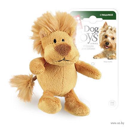 """Игрушка для собак """"Лев"""" (10 см)"""