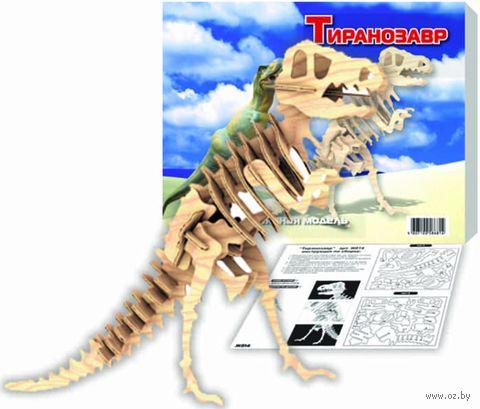 """Сборная деревянная модель """"Тиранозавр"""" (большая) — фото, картинка"""