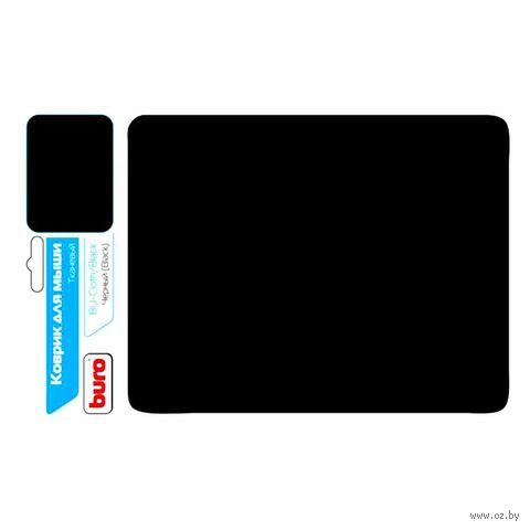Коврик для мыши Buro BU-CLOTH (черный) — фото, картинка
