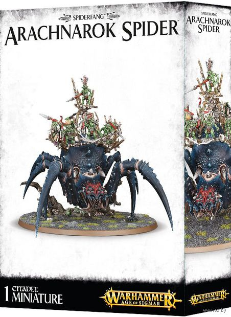 Warhammer Age of Sigmar. Spiderfang Grots. Arachnarok Spider (89-22) — фото, картинка