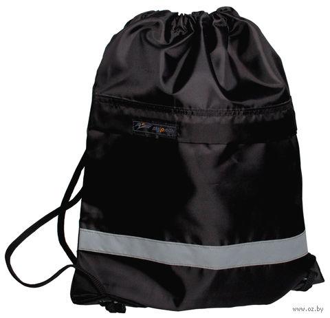 """Рюкзак-мешок """"Спринт"""" (чёрный) — фото, картинка"""