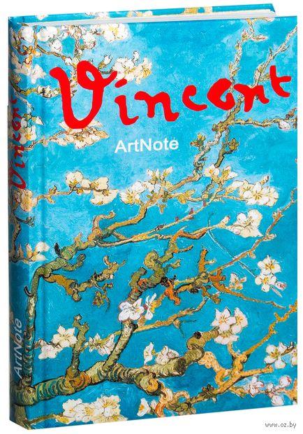 """Блокнот для записей. Ван Гог """"Ветка миндаля"""""""