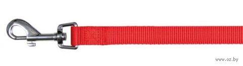 """Поводок нерегулируемый для собак """"Classic"""" (размер M-L; 100 см; красный)"""