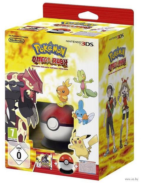Стартовый комплект Pokémon Omega Ruby (Nintendo 3DS)