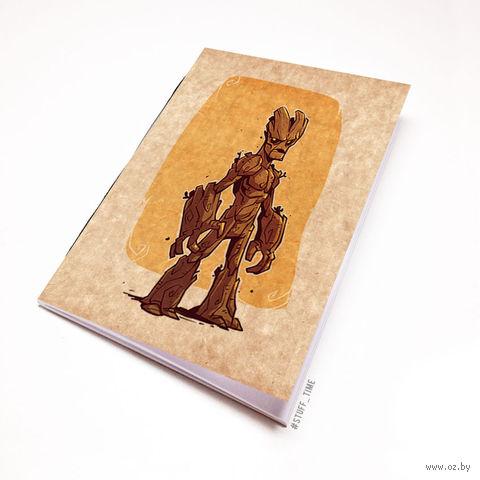 """Блокнот крафт """"Стражи Галактики"""" А5 (арт. 900)"""