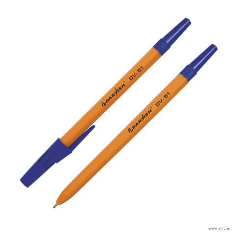 """Ручка шариковая синяя """"Darvish"""" (0,7 мм; арт. DV-51) — фото, картинка"""