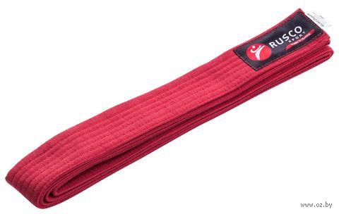 Пояс для единоборств (280 см; красный) — фото, картинка