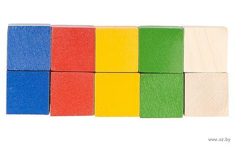 Кубики (10 шт.; арт. Д-634) — фото, картинка