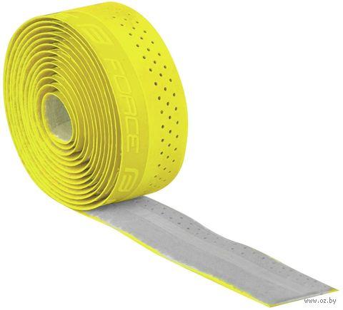 Обмотка велосипедного руля (желтая; арт. 38026) — фото, картинка