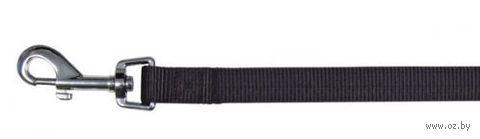 """Поводок нерегулируемый для собак """"Classic"""" (размер L-ХL, 100 см, черный, арт. 14091)"""
