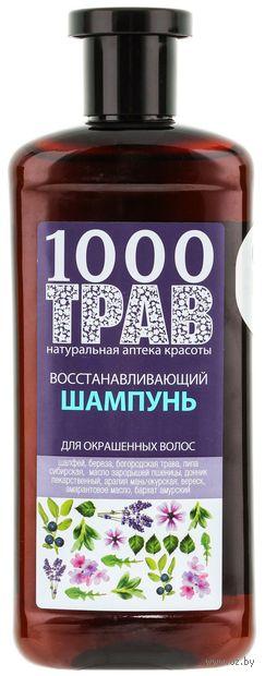 """Шампунь для волос """"Восстанавливающий. Для окрашенных волос"""" (500 мл) — фото, картинка"""
