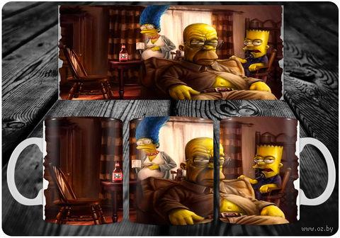 """Кружка """"Симпсоны"""" (арт. 18) — фото, картинка"""