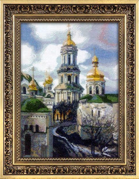 """Вышивка крестом """"Золотая Лавра"""" (300x420 мм) — фото, картинка"""