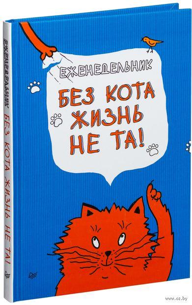 Еженедельник. Без кота жизнь не та! — фото, картинка