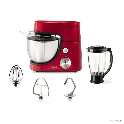 Кухонный комбайн Tefal QB508GB1 (красный) — фото, картинка