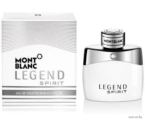 "Туалетная вода для мужчин Mont Blanc ""Legend Spirit"" (50 мл) — фото, картинка"
