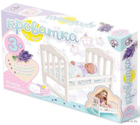 Кроватка для кукол (арт. 02716) — фото, картинка