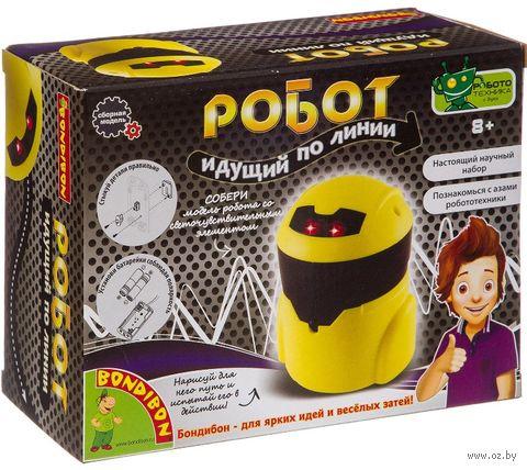 """Набор для опытов """"Робот, идущий по линии"""" — фото, картинка"""