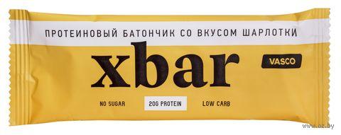 """Батончик """"Xbar протеиновый. Шарлотка"""" (60 г) — фото, картинка"""