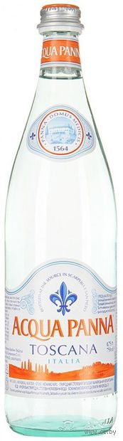 """Вода минеральная """"Acqua Panna"""" (750 мл) — фото, картинка"""