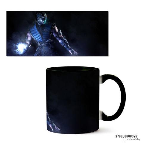 """Кружка """"Mortal Kombat"""" (326, черная)"""