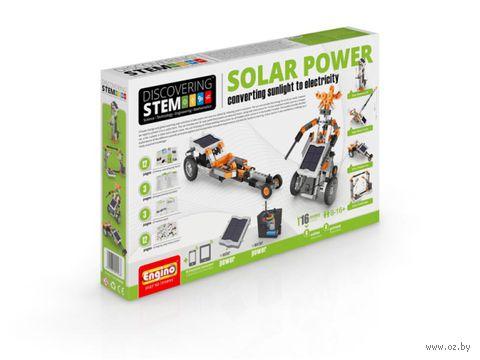 """Конструктор """"Discovering Stem. Солнечная энергия"""" (803 детали)"""