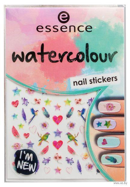 "Наклейки для дизайна ногтей ""Watercolour"" (тон: 07) — фото, картинка"