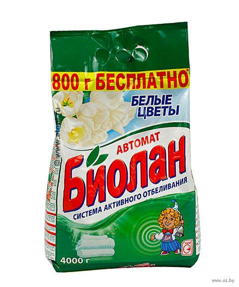 """Стиральный порошок """"Белые цветы"""" (4 кг) — фото, картинка"""