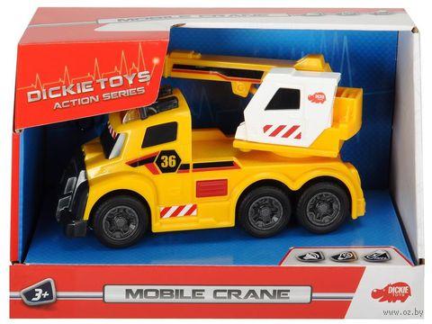"""Машинка """"Mobile Crane"""" (со световыми и звуковыми эффектами) — фото, картинка"""