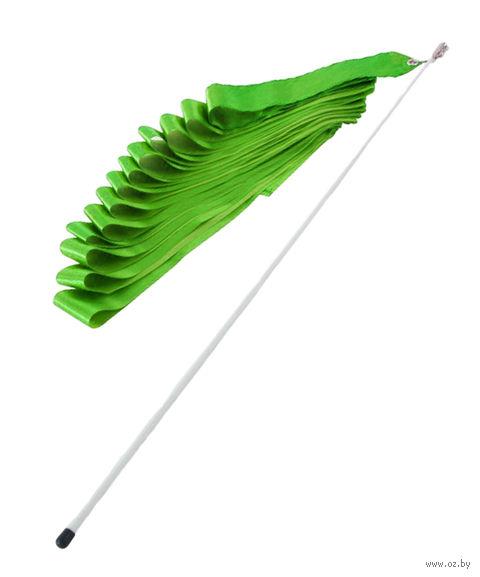 Лента художественной гимнастики (зелёная) — фото, картинка