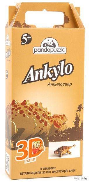 "Пазл ""3D PandaPuzzle. Анкилозавр"" (25 элементов) — фото, картинка"
