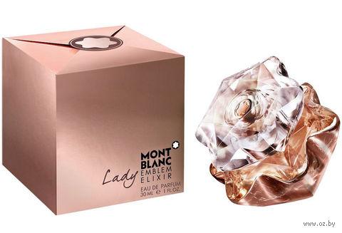"""Парфюмерная вода для женщин Mont Blanc """"Lady Emblem Elixir"""" (30 мл) — фото, картинка"""