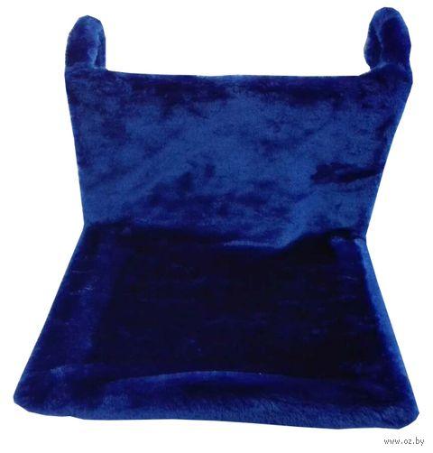Гамак для кошек (43х32х20 см; синий) — фото, картинка