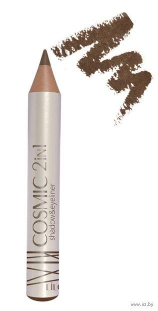 """Тени-карандаш для век 2в1 """"Cosmic"""" тон: 402 — фото, картинка"""