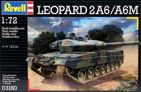 """Сборная модель """"Немецкий танк Leopard 2A6/A6M"""" (масштаб: 1/72) — фото, картинка"""