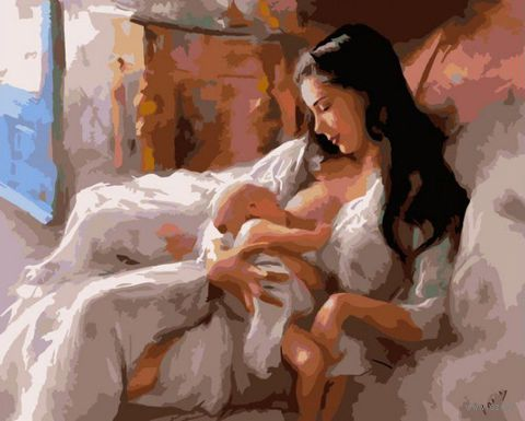 "Картина по номерам ""Материнство"" (400х500 мм)"