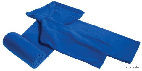 Плед с рукавами (темно-синий)
