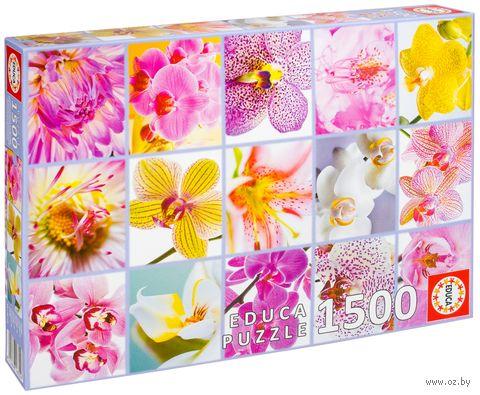 """Пазл """"Цветы. Коллаж"""" (1500 элементов)"""