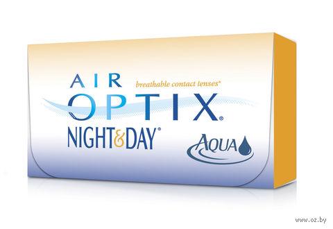 """Контактные линзы """"Air Optix Night and Day Aqua"""" (1 линза; +1,0 дптр) — фото, картинка"""
