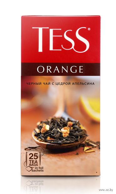 """Чай черный """"Tess. Orange"""" (25 пакетиков) — фото, картинка"""