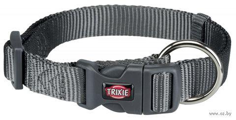 """Ошейник """"Premium Collar"""" (40-65 см; графит) — фото, картинка"""