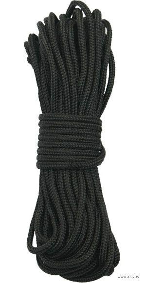 Шнур (4х3 м; чёрный) — фото, картинка