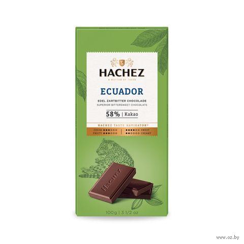 """Шоколад тёмный """"Ecuador"""" (100 г) — фото, картинка"""