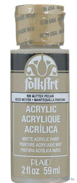 "Краска акриловая ""FolkArt. Acrylic Paint"" (масло пекан, 59 мл; арт. PLD-00939)"