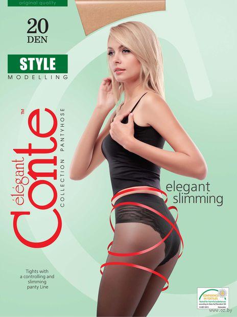 """Колготки женские корректирующие """"Conte. Style 20"""" — фото, картинка"""