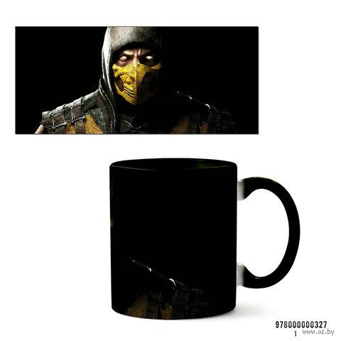 """Кружка """"Mortal Kombat"""" (327, черная)"""