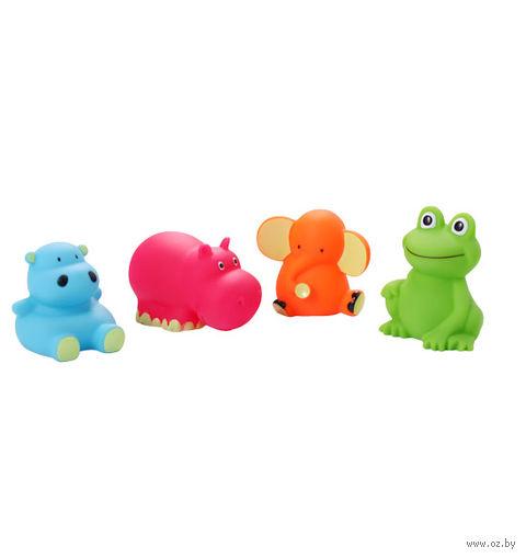 """Набор игрушек для купания """"Зверята"""" (4 шт)"""
