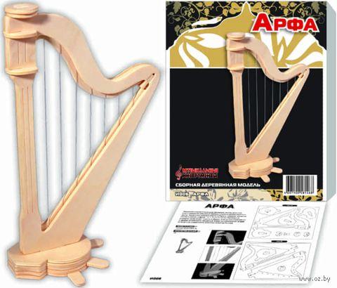 """Сборная деревянная модель """"Арфа"""" — фото, картинка"""